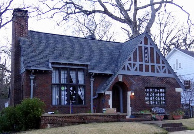 Cotswold Cottage Style Highland Park Birmingham Alabama