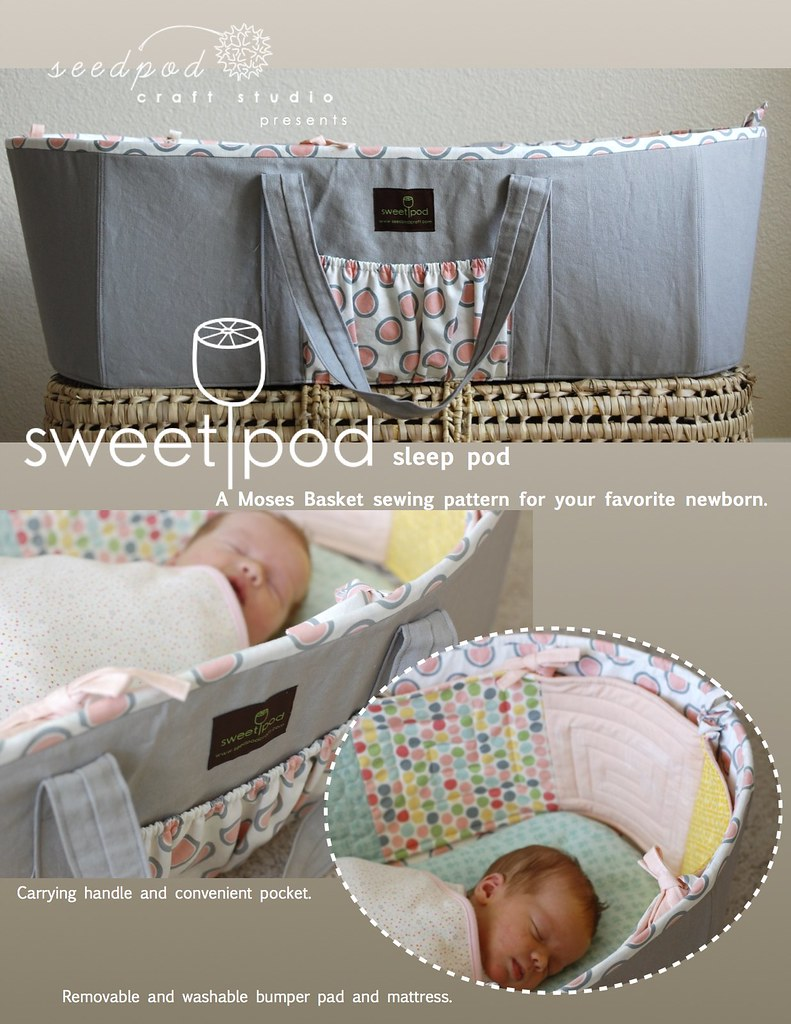 the SweetPod sleep pod pattern is here!
