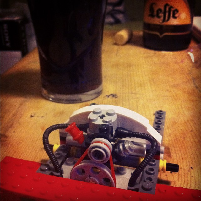 Engine (and beer)