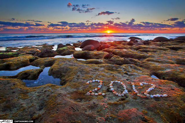 Happy New Year for 2012! Sunrise from Coral Cove Park.