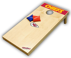 Kansas City Chiefs Cornhole Boards XL