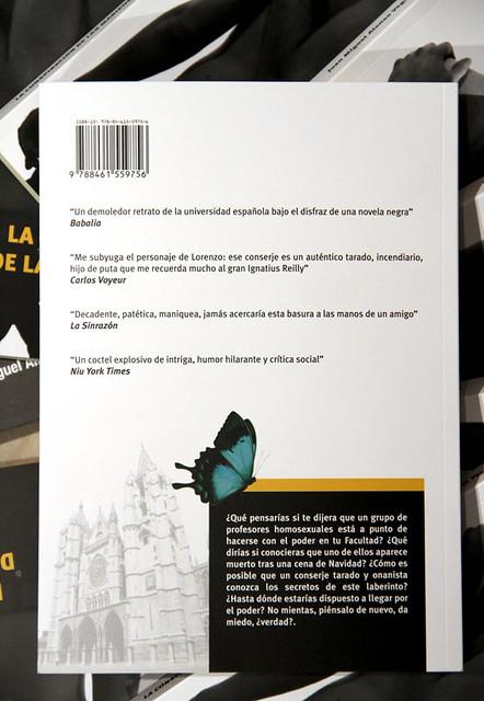 LA CONSPIRACIÓN DE LAS MARIPOSAS - JUAN MIGUEL ALONSO VEGA