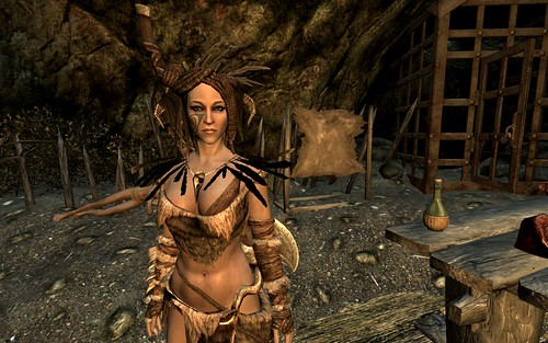 The oddly effective forsworn armour