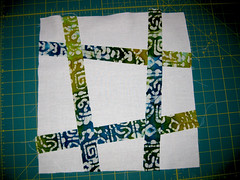 Block of the Month - Wonky Pound Sign