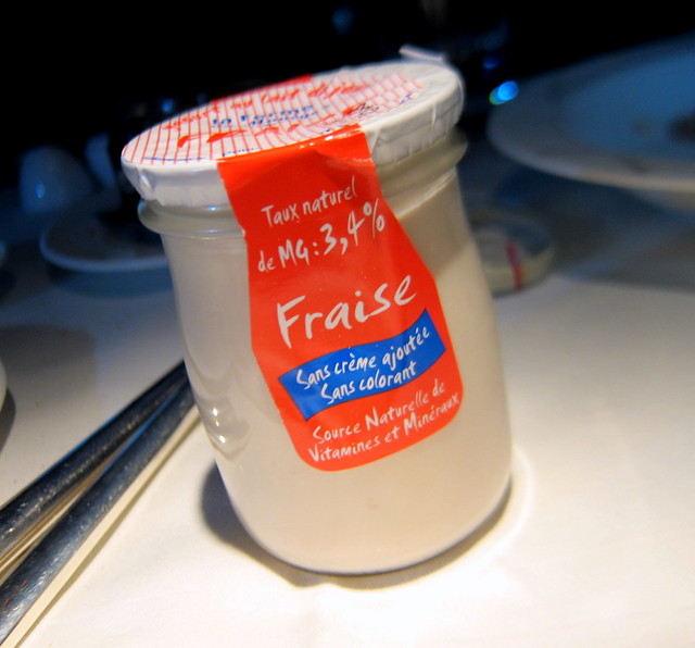 Fruit Yogurt from La Ferme du Manege
