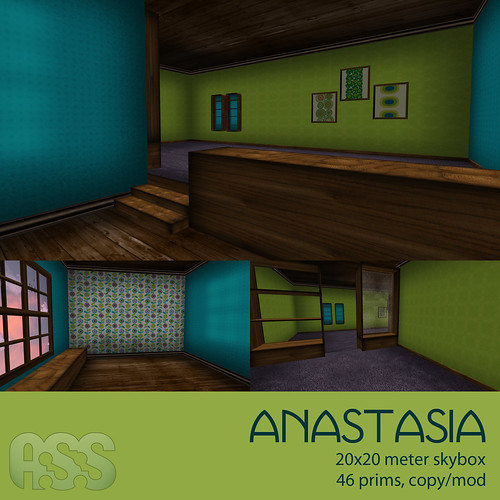Anastasia, skybox for Lazy Sunday, 70L by Photos Nikolaidis