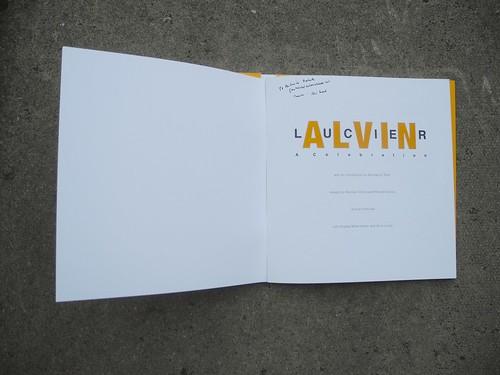 Alvin Lucier: A Celebration programme