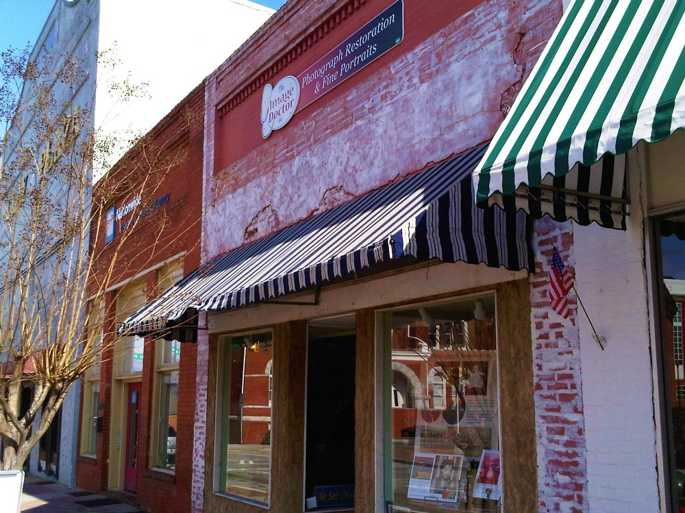 East Side of the Square Looking North McDonough, Ga