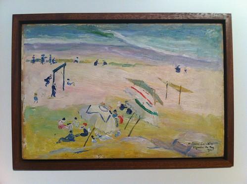 António Carneiro, Praia da Figueira da Foz, 1921