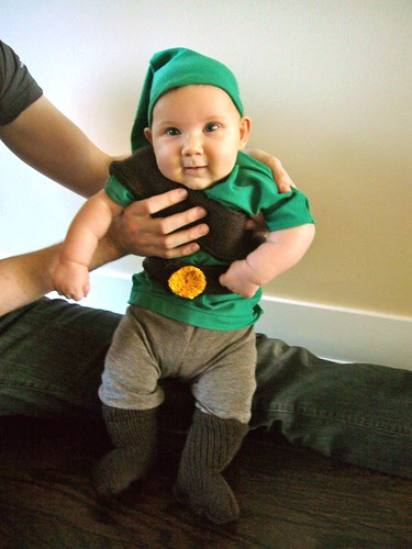 "Baby ""Link"" (Legend of Zelda) costume 