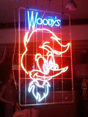 Neon Woody by Jodi K.