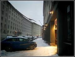 lumisateen jälkeinen aamu