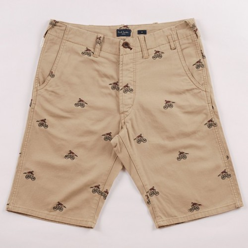Paul Smith - Cyclist Embroidered Shorts
