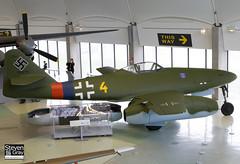 112372 - VK893 - 112372 - Luftwaffe - Messerschmitt Me.262A-2a - 080203 - RAF Museum Hendon - Steven Gray - IMG_7004