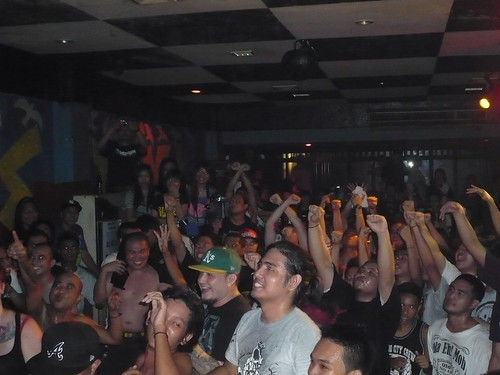 Hardcore-Crowd in Manila in 2011