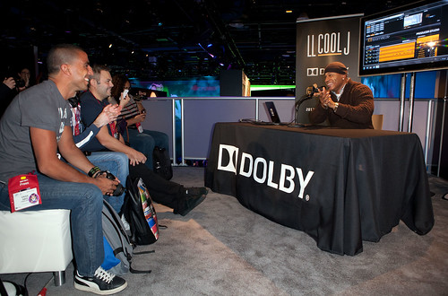 Dolby and LLCOOLJ present Boomdizzle Press Conference at CES 201