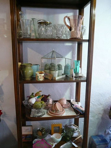 Pecan shelves