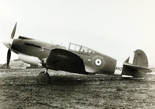 Curtiss, P-40B, Model H 81-A