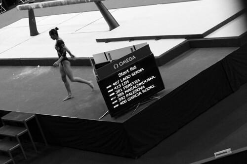 Elsa Garcia, olympic gymnast