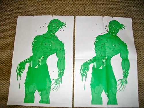 My & Devon's Zombie Targets