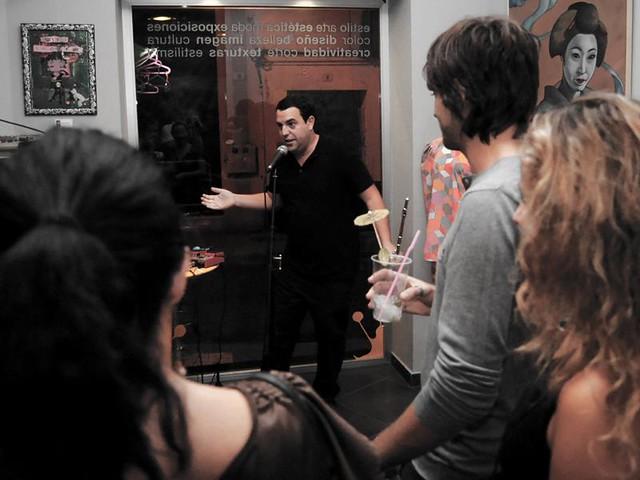 Roberto Herruzo en la peluquería Handicap