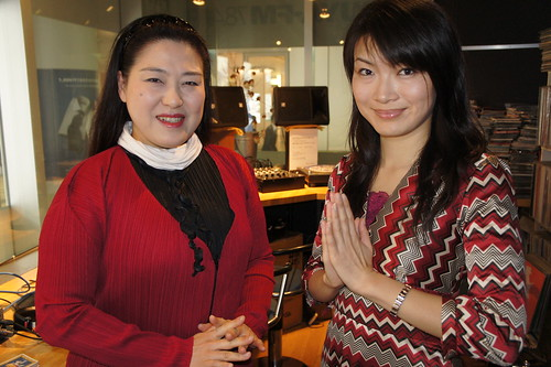 SHIBUYA-FM 78.4MHz にて @ 渋谷 Shibuya