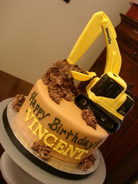 Birthday Cake Ideas Digger : 6691705945_8d85fe3d2d_z.jpg