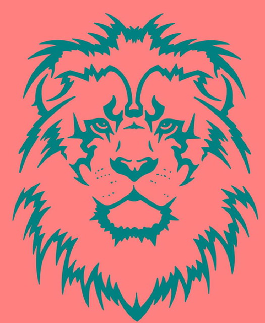Lion_tattoo_design