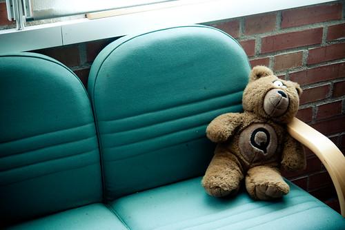 Teddy bear by Håkan Dahlström