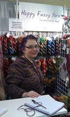 Riin Gill of Happy Fuzzy Yarn in Michigan