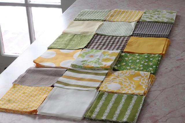 Plus Quilt fabric squares