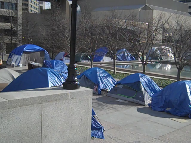 Occupy Nashville 14 Jan 2012