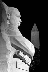 MLK Jr. Memorial & Washington Monument (by: Scott Ableman, creative commons license)