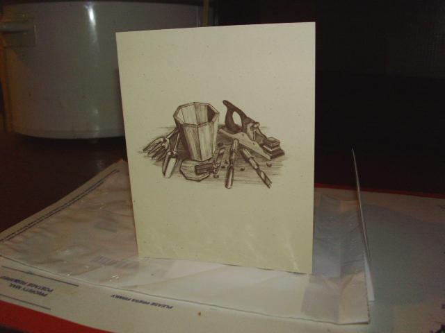A Pretty Card...