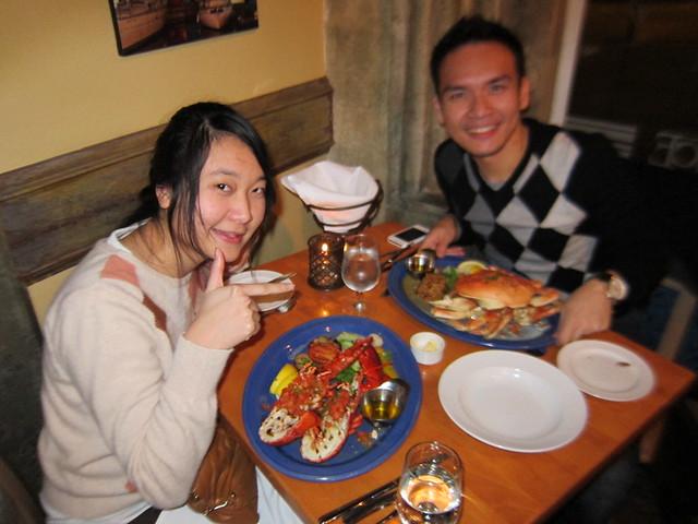 Our Shellfish Dinner
