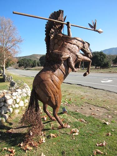scrap metal sculpture, Ricardo Breceda, hor… IMG_9264