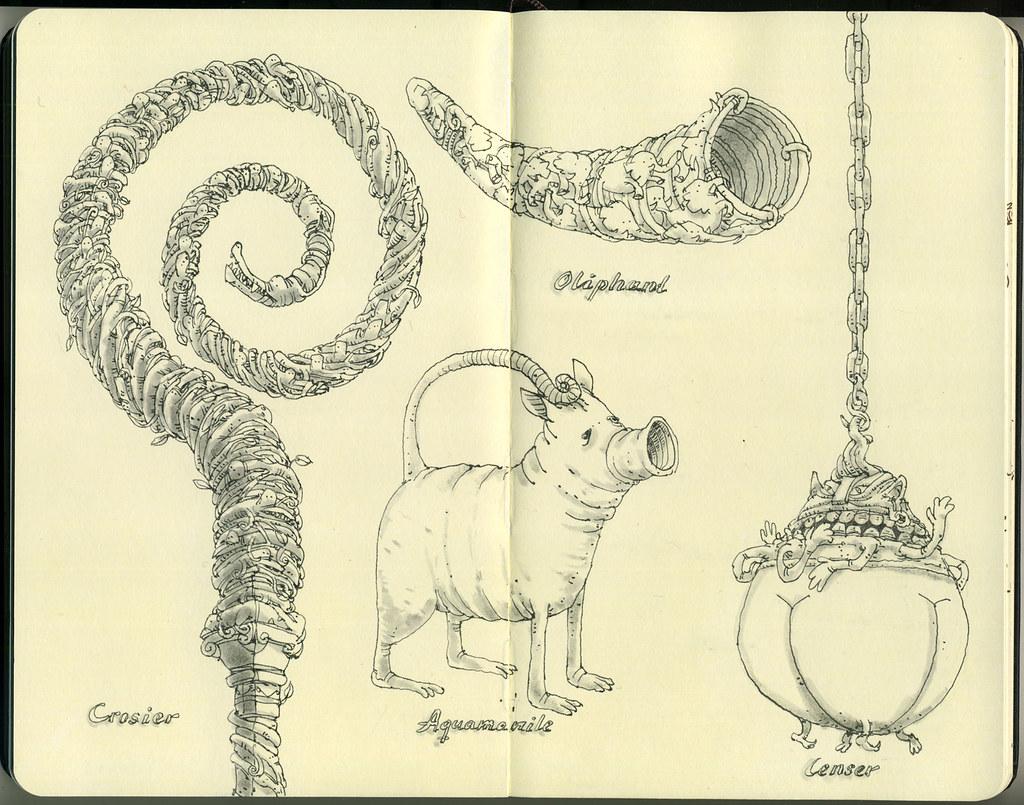 Mattias Sketchbook