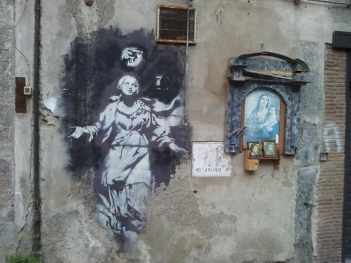 Banksy methinks by nickiposi