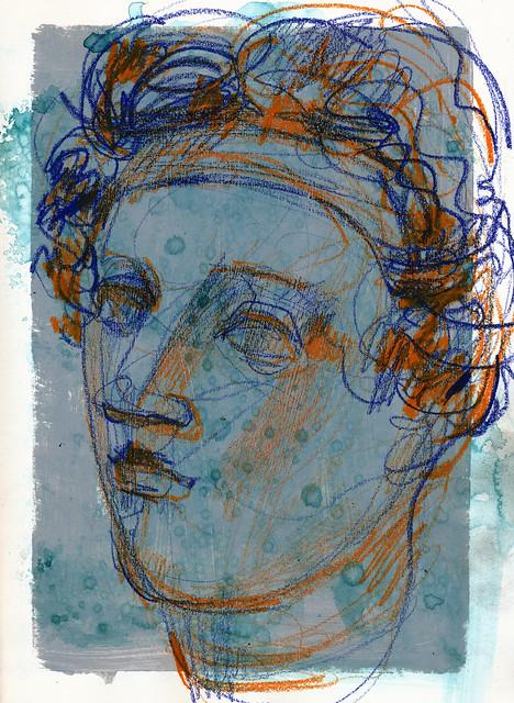 Roman head, NCMA