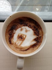 Today's latte, Boo (Teresa) in the Mario series.