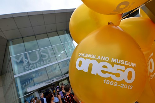 150th birthday celebrations at the Queenland Museum and Sciencentre
