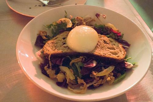 Crispy pig ear salad @ CHARPOP
