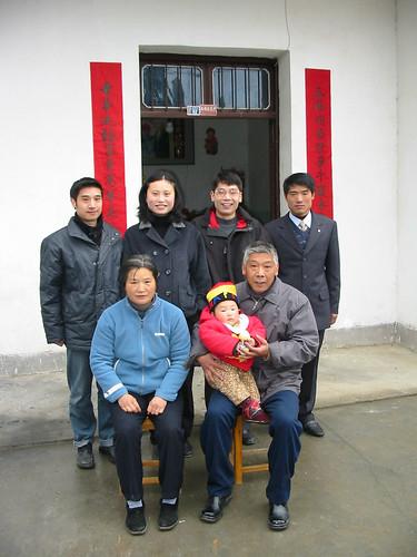 Chinese New Year Family Photo
