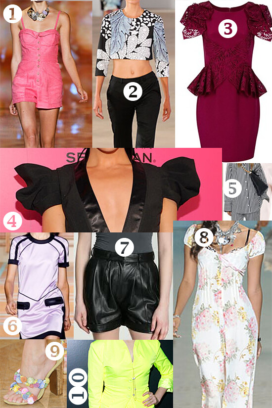 spring fashion trends 2012