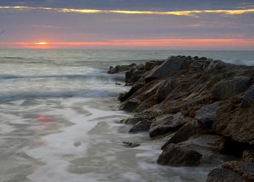 beach sc sunrise dawn day pentax cloudy pawleys pentaxkx smcpda40mmf28 justpentax pentaxart