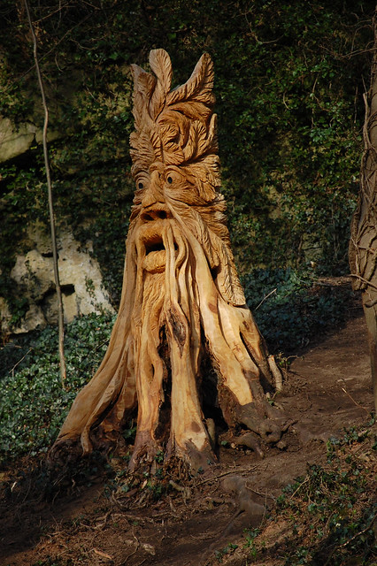 Knaresborough abbey road chain saw sculpture flickr