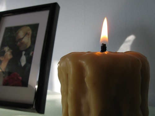 Candlelight in the Office