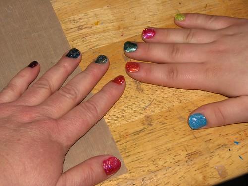 Rainbow Nails 002