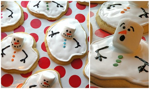 MF Melting Snowman Cookie