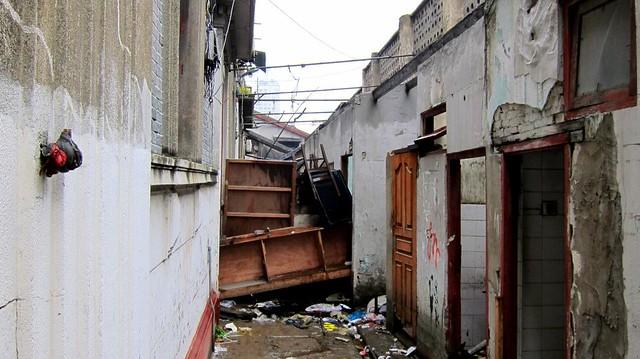 leerstehendes viertel - shanghai 2012
